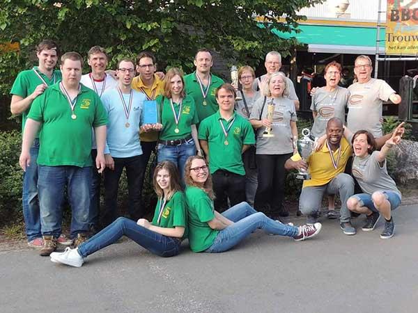 Sportvereniging voor Gehandicapten De Tubanten: KNZB kampioenschap